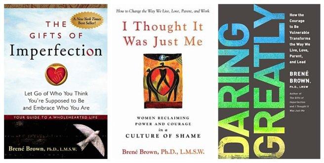 Brene Brown books
