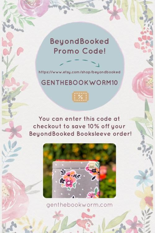 BeyondBooked booksleeves promo code