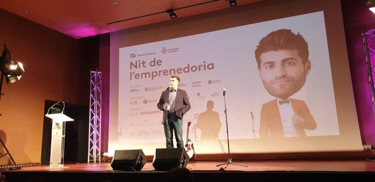 El comediant Pep Plaza, presentador de la gala.