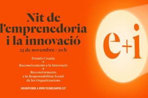 La nit dels emprenedors es celebra el 23 de novembre amb la col·laboració de GENTIC.