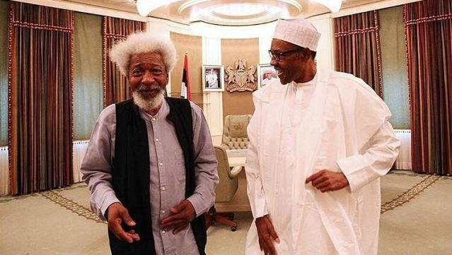 Wole Soyinka Says -The President Is Not In Charge Of This Nation.
