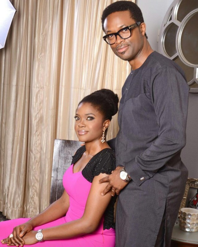 Omoni Oboli's Hubby Nnamdi CelebratesTheir 20th Wedding Anniversary
