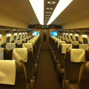 JR新幹線グリーン車の座席