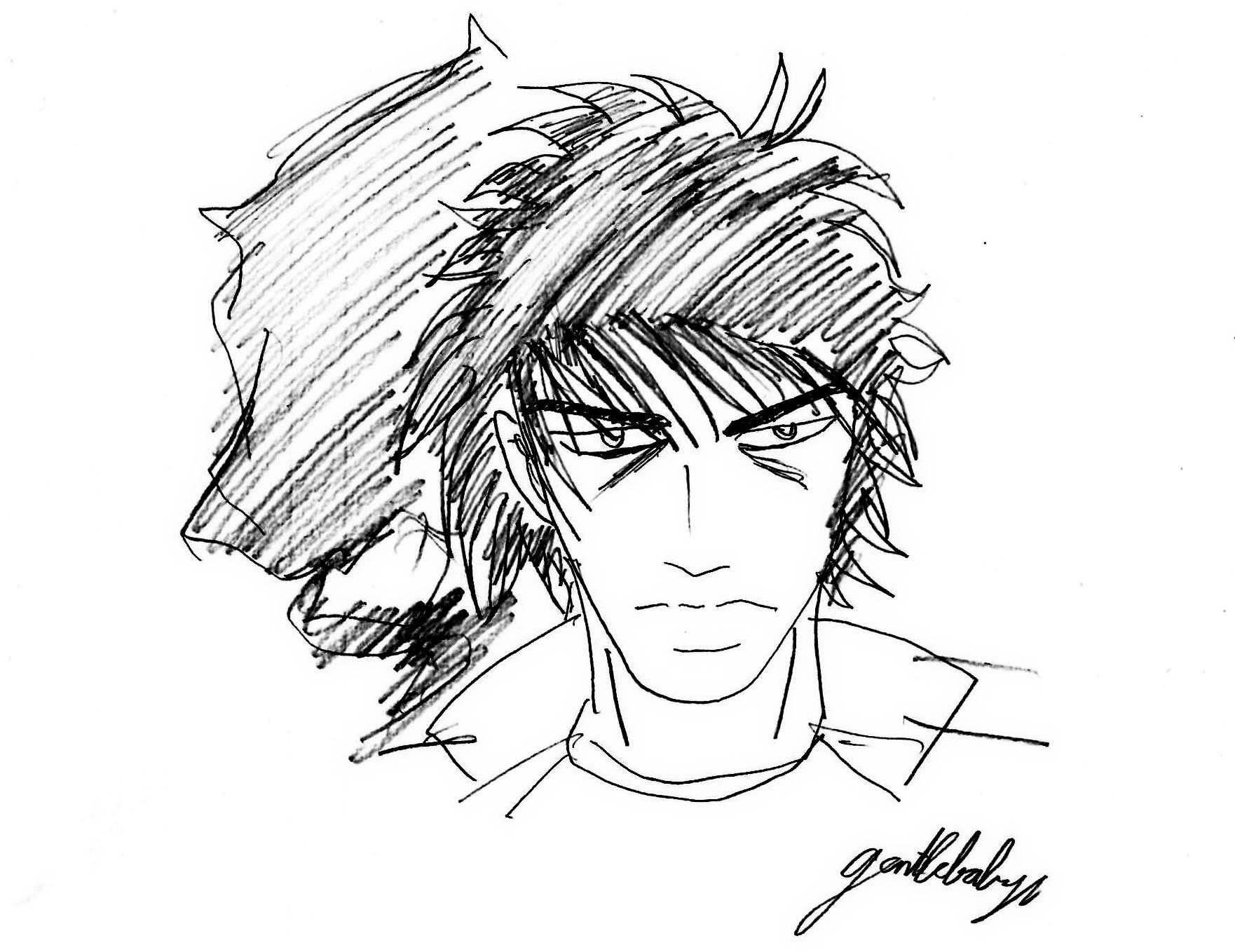 Manga Wolf Guy Is Not Berserk Highschool Version