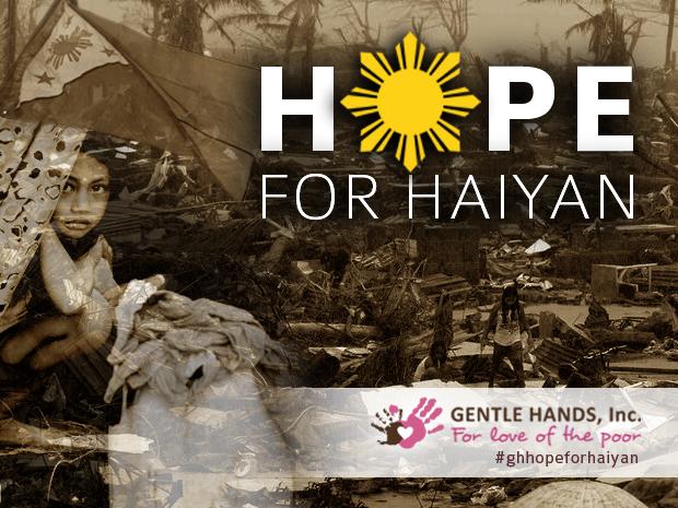 hope for haiyan post