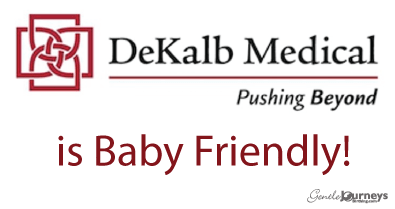 BABY-FRIENDLY INITIATIVE, water birth and Family Centered Cesareans