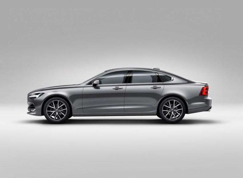 Profile Left Volvo S90 Osmium Grey