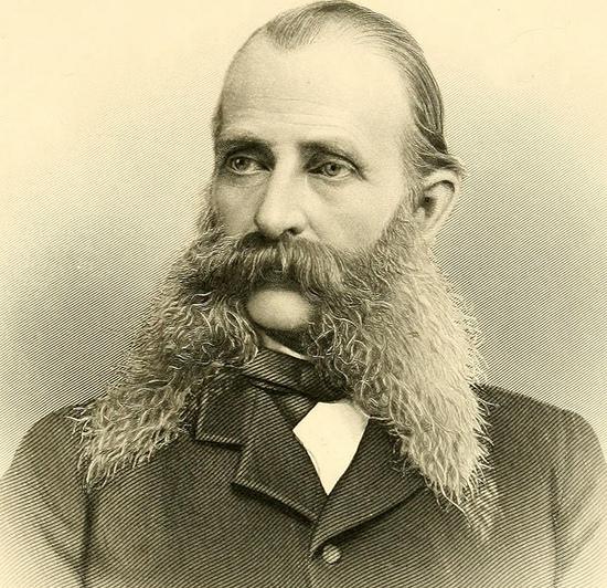 Benjamin Lyman Morrison iz Ripleya, Massachusetts, SAD. Rođen 1828. godine.