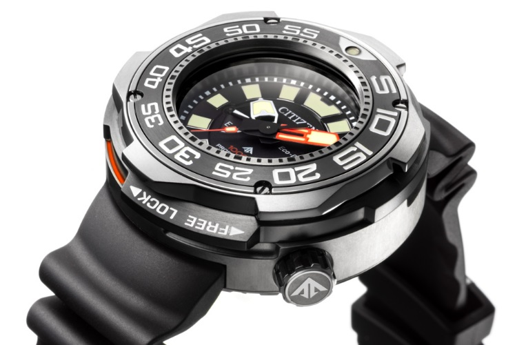 Citizen Eco-Drive3 Professional Diver 1000m