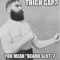 thigh-gap-you-mean-beard-slot-meme