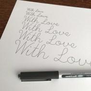 Single Line Font - Pen Test 6