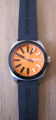 MONTRE BOSS ORANGE test