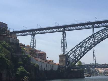 Ciel bleu sur Porto...