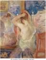 Berthe Morisot, Devant la psyché, 1890