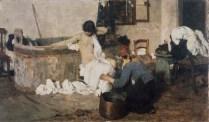 Giacomo Favretto, Après le bain,1884