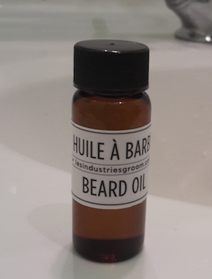 Les industries du Groom test huile a barbe blog beaute homme