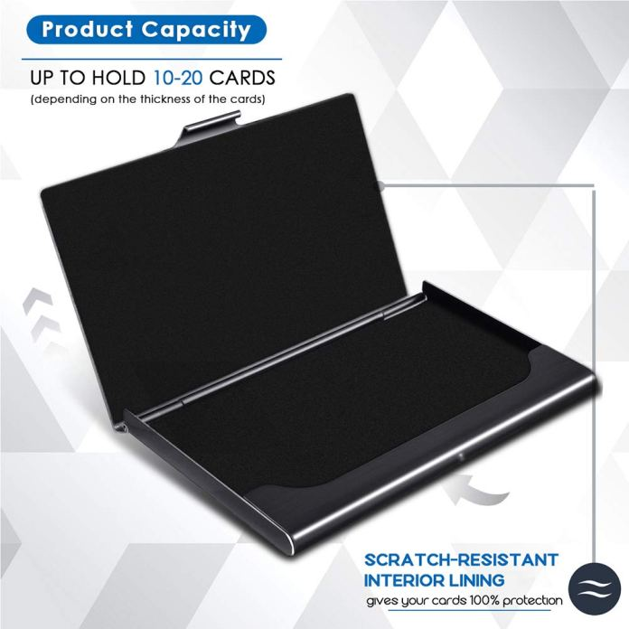 MaxGear-Professional-Metal-Business-Card-Holder