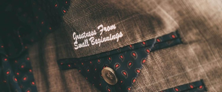 Greatness From Small Beginnings | GENTLEMAN WITHIN
