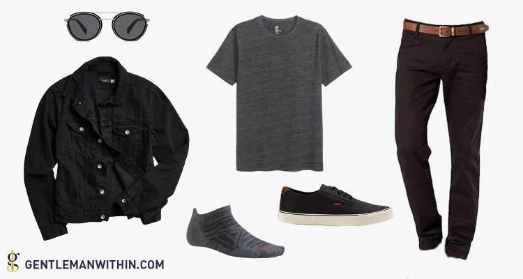 Black on Black - Styled 5 Ways | The Denim Jacket