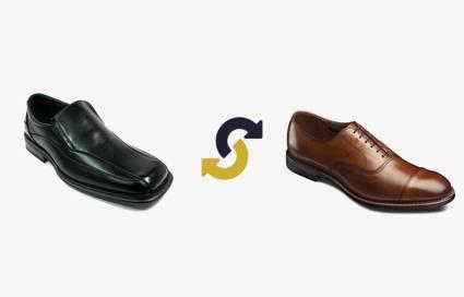 dress shoes swap
