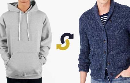 sweater swap