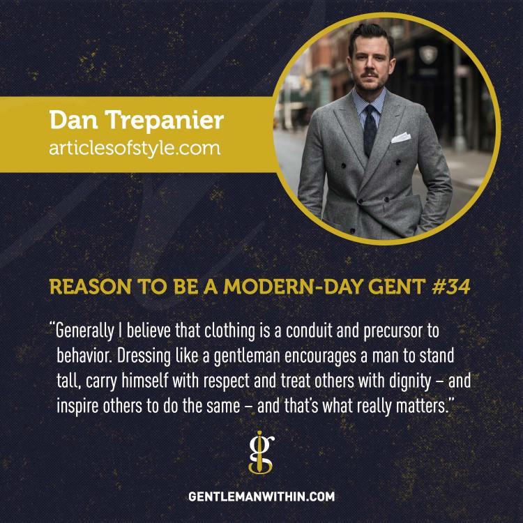 Dan Trepanier Reason To Be A Modern-Day Gentleman
