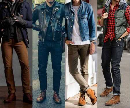 Brown Leather Boot Inspiration