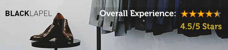 black lapel overall rating
