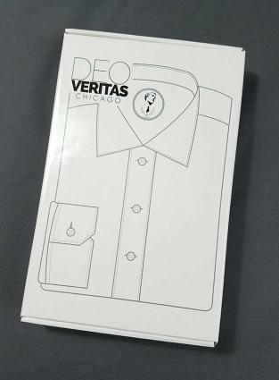 Deo Veritas Custom Dress Shirt Packaging