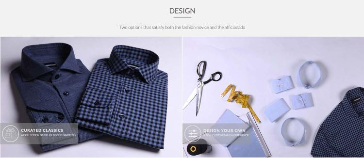 Deo Veritas Custom Dress Shirt Design Options