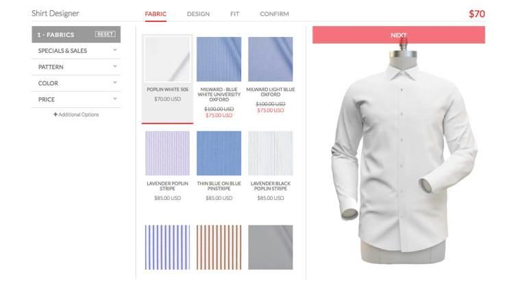Custom Shirt Fabrics