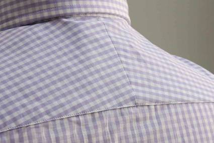 Deo Veritas Custom Dress Shirt Split Yoke