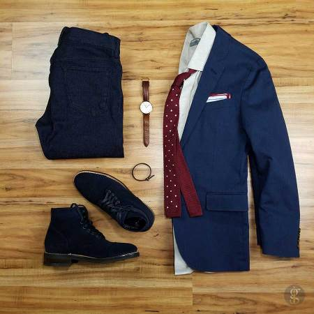 30c99e1c7a38 How To Wear A Navy Blue Blazer  Style Guide