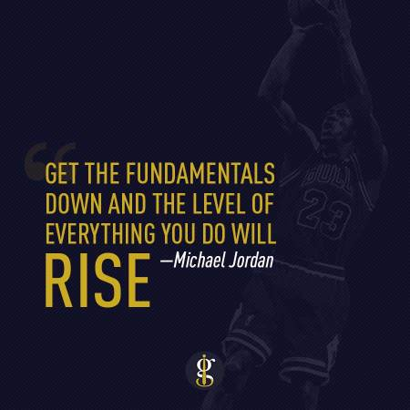 Michael Jordan Fundamentals   GENTLEMAN WITHIN