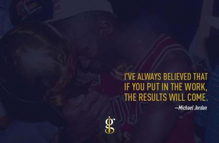 Michael Jordan First Championship   GENTLEMAN WITHIN