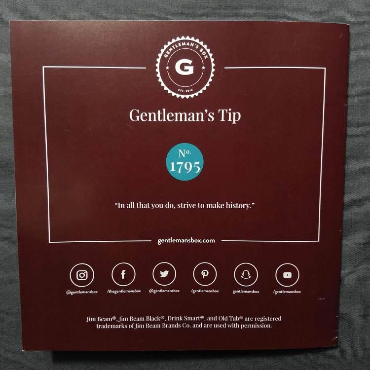 Gentleman's Tip