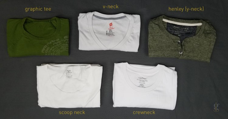 5 T-Shirt Types   GENTLEMAN WITHIN