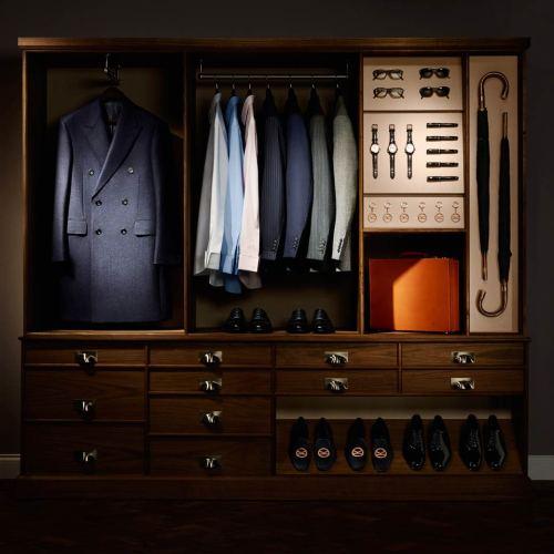 A Kingsman's Closet
