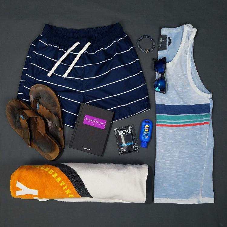 The Summer Beach Bum Outfit 1 | GENTLEMAN WITHIN