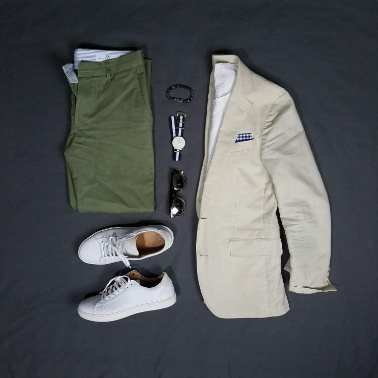 Smart Casual Summers Flatlay | GENTLEMAN WITHIN