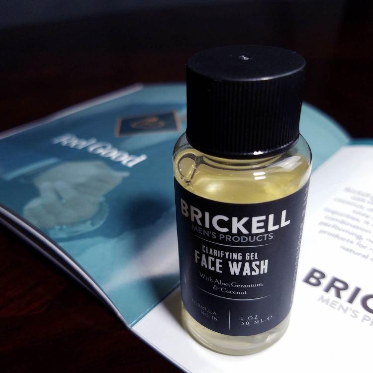 Brickell Face Wash