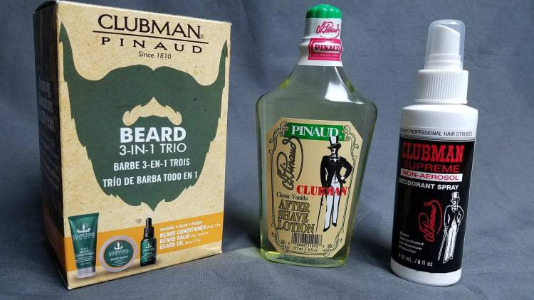 Clubman Pinaud Grooming Products