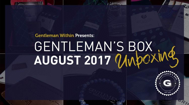 Gentleman's Box August 2017 Unboxing