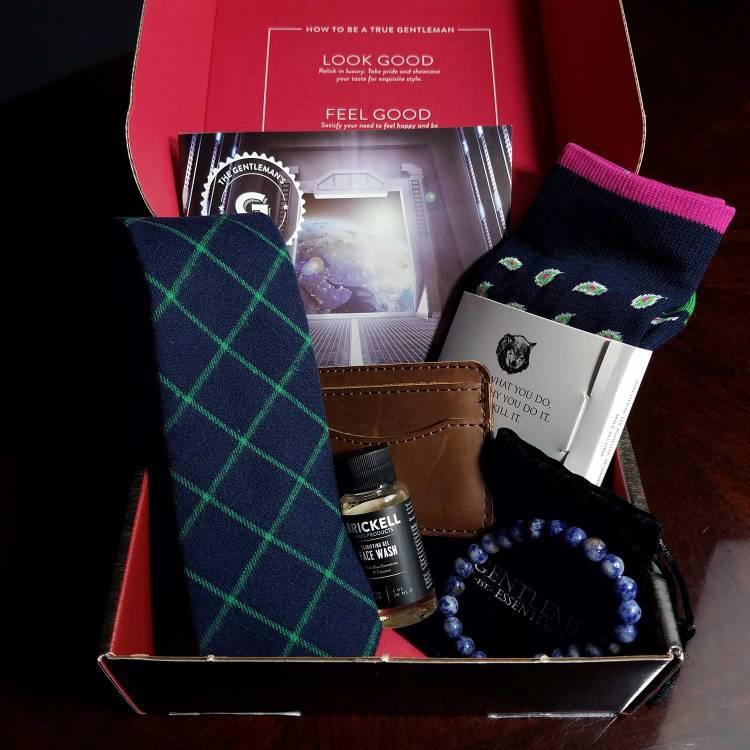 Gentleman's Box August 2017 Unboxing