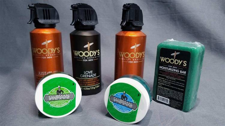 Woody's & Clubman Grooming Products