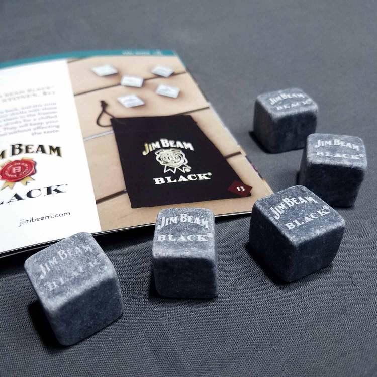 Jim Beam Black Whiskey Stones   GENTLEMAN WITHIN