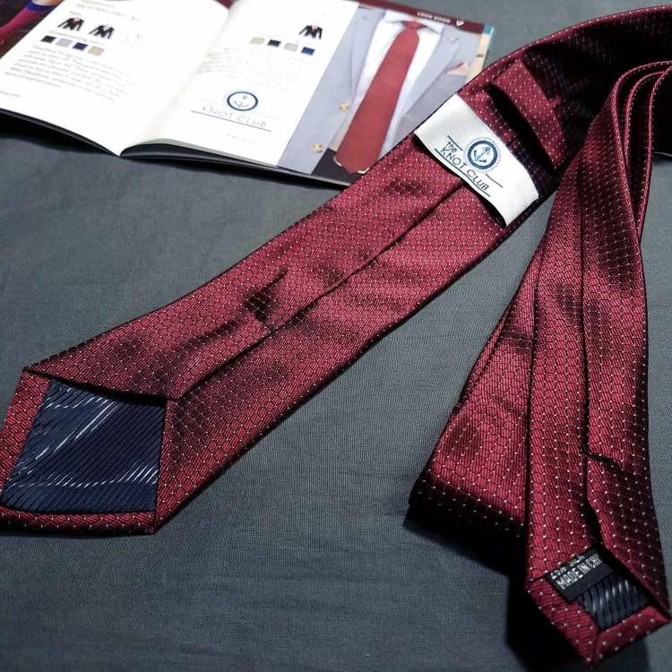 The Knot Club Necktie   GENTLEMAN WITHIN