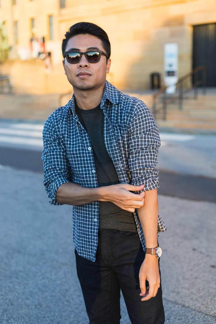 Minimal Layered Up Flannel | GENTLEMAN WITHIN