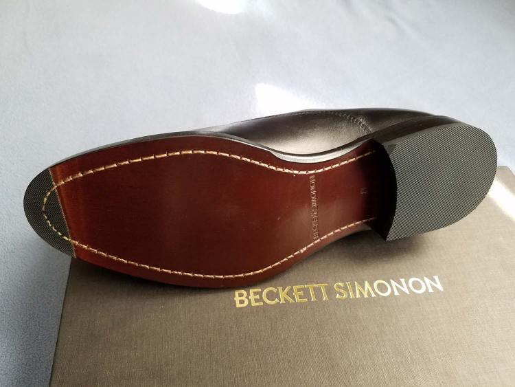 Beckett Simonon Dean Oxford Leather Sole | GENTLEMAN WITHIN