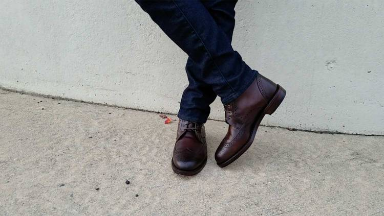 Allen Edmonds Dalton Brogue Dress Boot | GENTLEMAN WITHIN